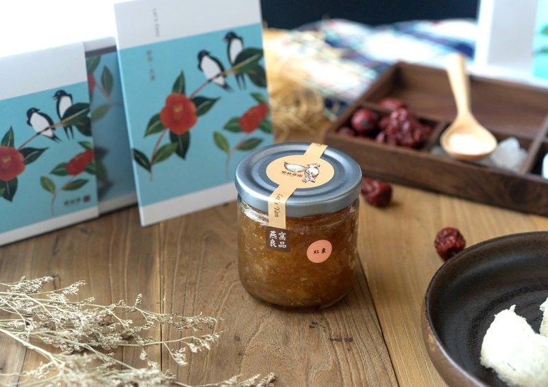 鮮燉燕窩 即食燕盞 紅棗味240ml 年節禮盒 初老輕熟齡食補保養