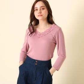 [マルイ]【セール】Vネックレースカットソー/クチュールブローチ(Couture Brooch)
