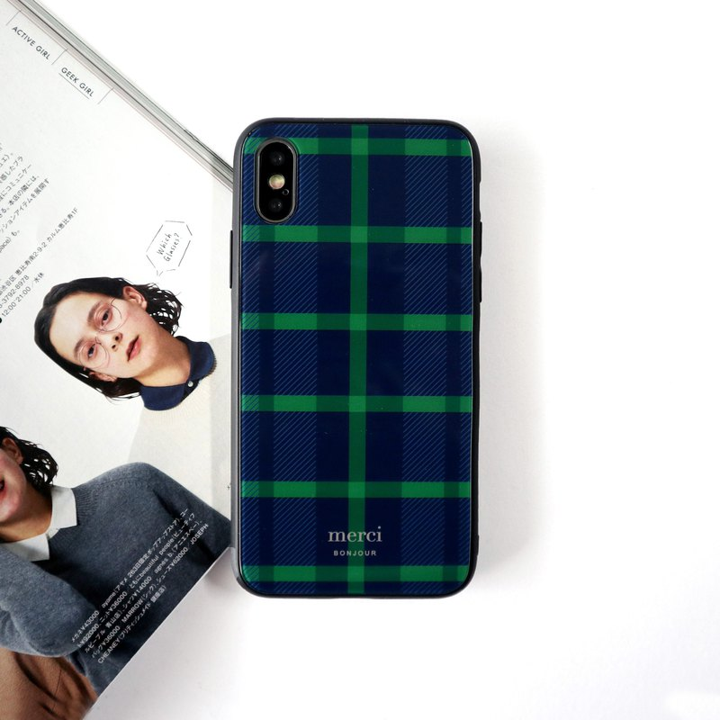 蘇格蘭綠玻璃手機殼