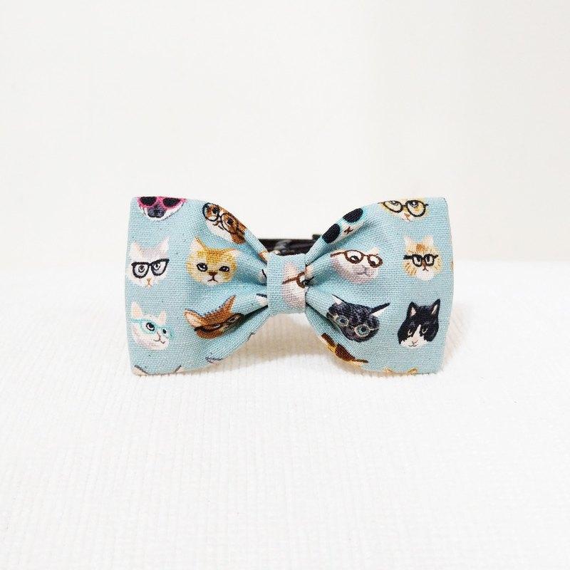 Ella Wang Design Bowtie 寵物 領結 蝴蝶結 貓 狗 粉藍