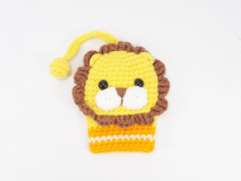 正經獅 獅子 鑰匙包 鑰匙圈 收納包(小)