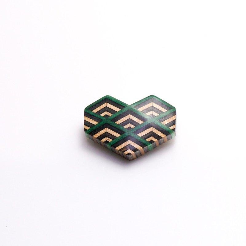 幾何心胸針R1501005