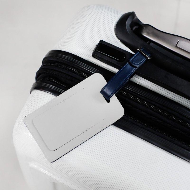 行李牌HOLI行李牌/大理石灰藍色