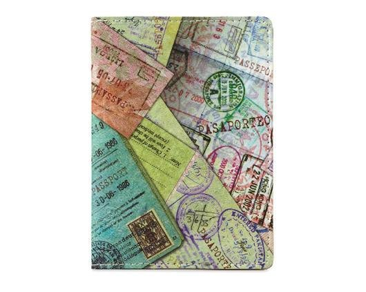 Mighty Passport Cover護照套-Stamp