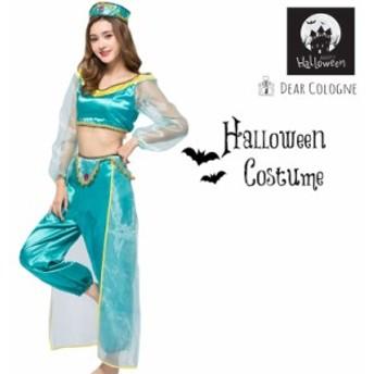 【送料無料】ハロウィン コスプレ 衣装 仮装 コスチューム  レディース かわいい アラビアン do002