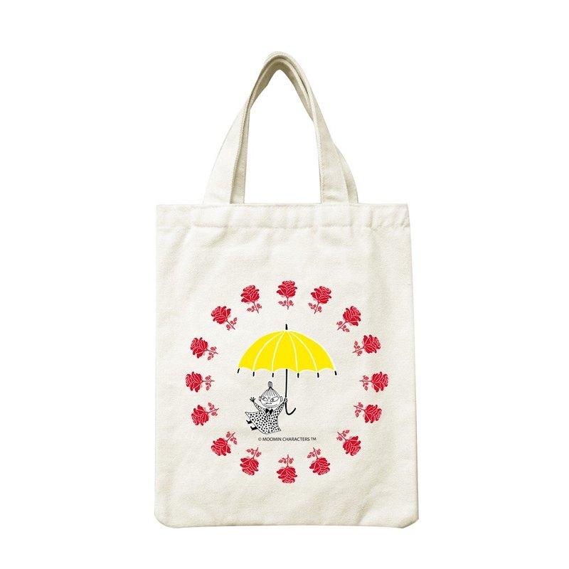 Moomin嚕嚕米授權-手提帆布包【美寶與小不點】