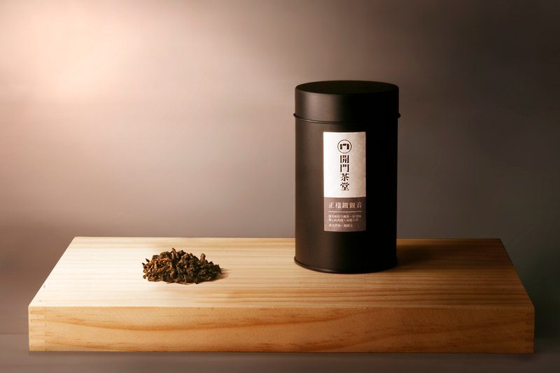 開門茶堂 正欉鐵觀音(鐵觀音)罐裝茶葉/75g