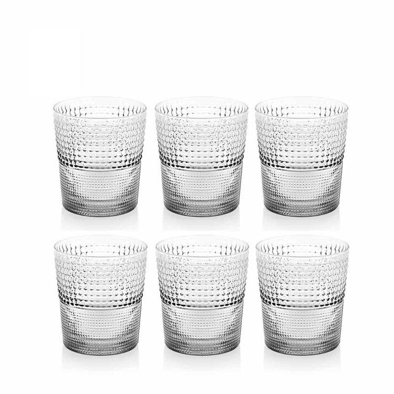 SPEEDY系列-280ml手工透明玻璃杯6入組-原廠盒裝