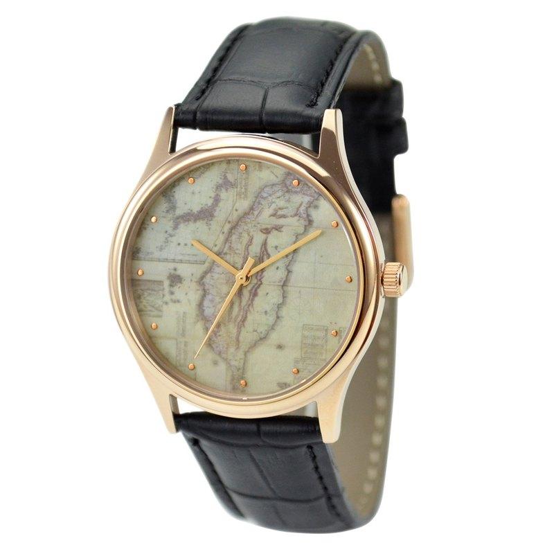 古地圖手錶 (台灣4)
