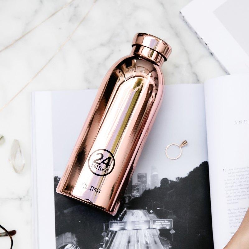 意大利24Bottles【CLIMA冷熱保溫系列】玫瑰金 - 不鏽鋼瓶