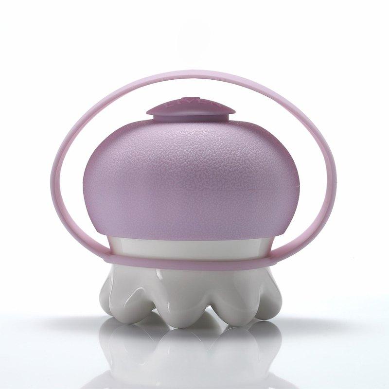 熱波按摩器 / 圓足 / 粉紫提套