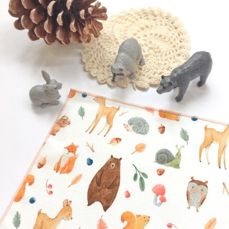 夢幻系列_森林動物 / Woodland Animal | 洗臉布