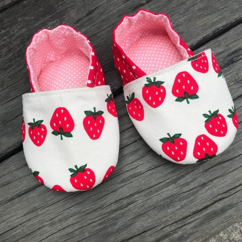 草莓 學步鞋