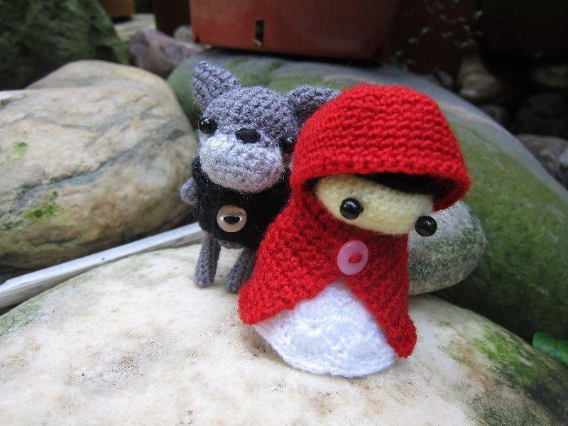 小紅帽與大野狼.婚禮娃娃(訂製屬於您的婚禮娃娃)