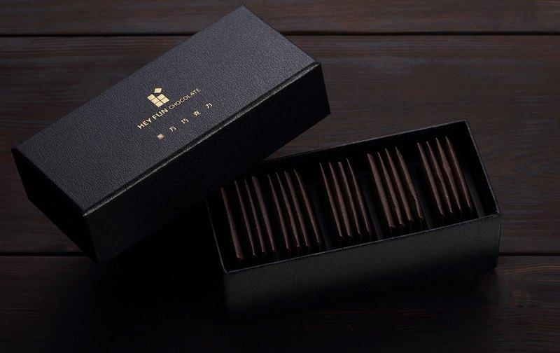 綜合經典巧克力薄片 【黑方巧克力】