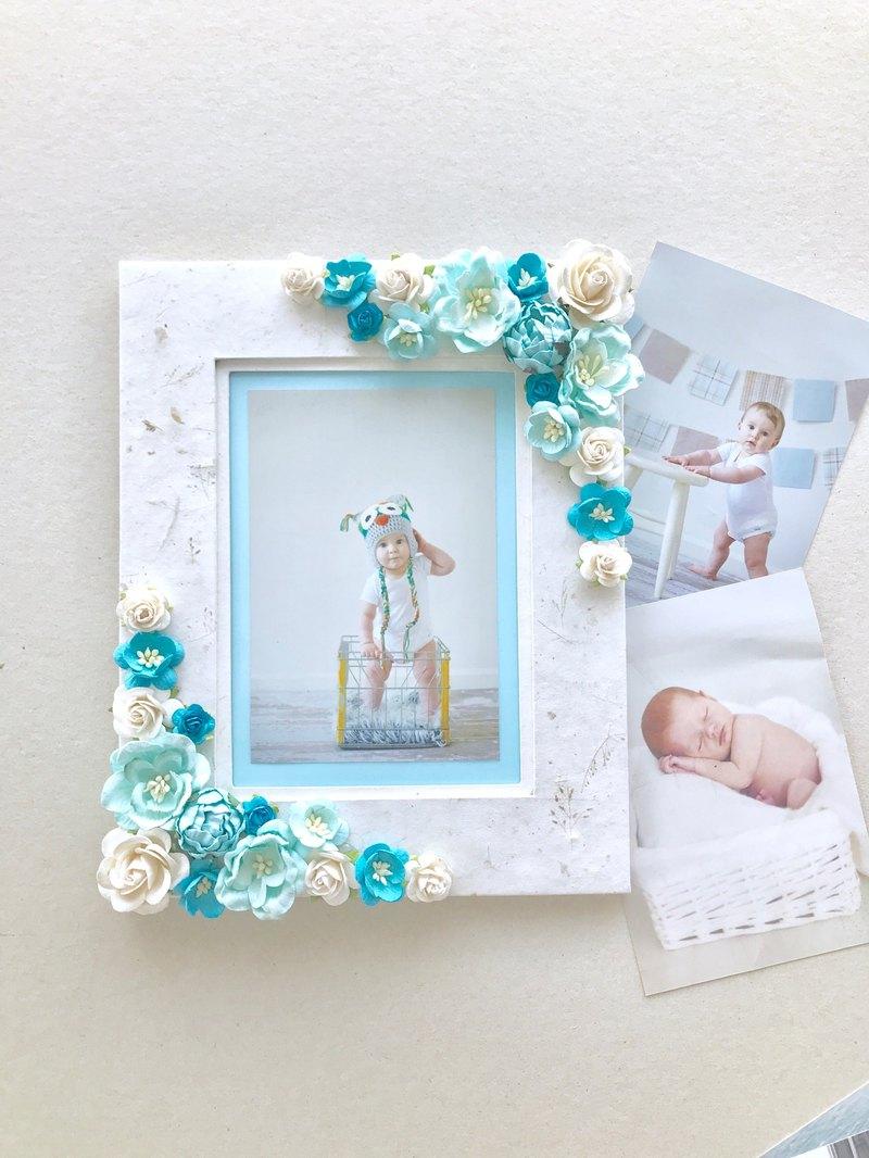 美好的畫框由桑樹紙製成。裝飾一個女孩的房間或男孩。