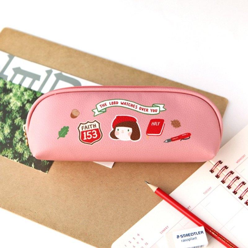 哈囉 珍妮 story鉛筆盒 01.草苺粉
