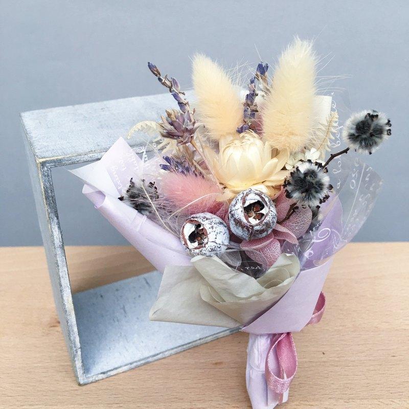 Floratone 十月 誕生月代表色乾燥花束 薰衣草紫Lavender