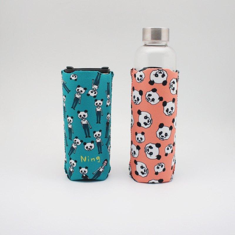 BLR 保溫瓶套 水壺套 張寧 聯名款 熊貓人