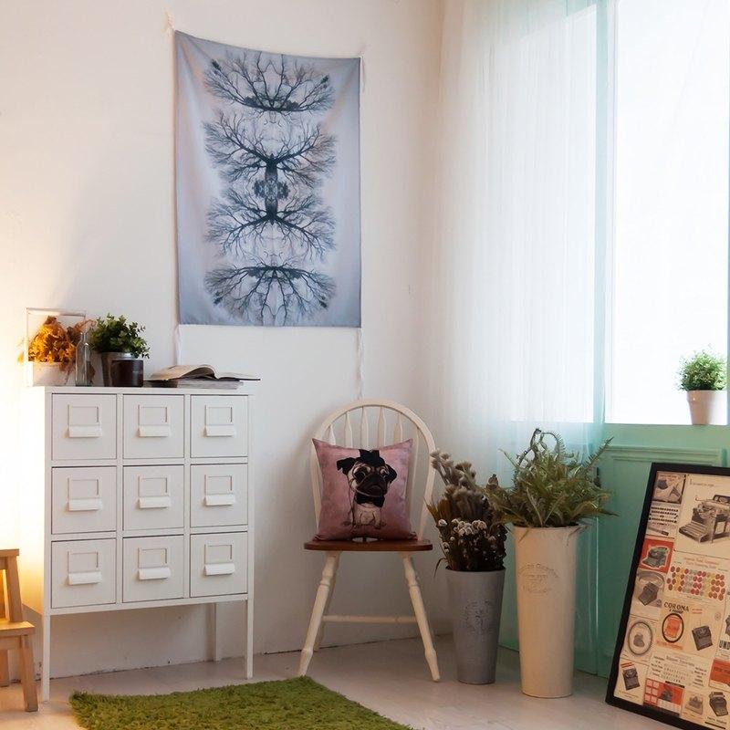 喧囂-壁幔Wall Tapestry-牆面佈置壁畫 房間佈置掛布 交換禮物