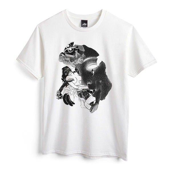 蕾絲 - 白 - 中性版T恤