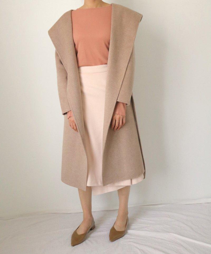 Claridges Coat -雙面喀什米爾羊毛手縫大衣 多色