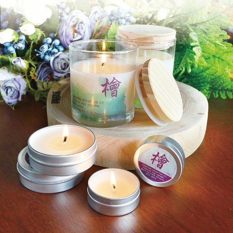 檜木精油護膚蠟燭 ( 15g / 40g / 130g )