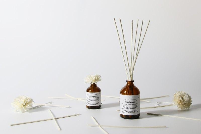 手工香氛擴香瓶【白廣藿香 White Patchouli Flowers】可加緞帶