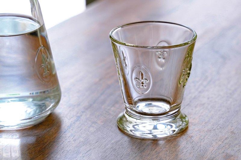 法式百合玻璃水杯