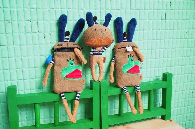 E*grouo 11週年慶 阿兔紀念款 手工娃娃 送禮 禮物