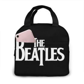 The Beatles ポータブル絶縁ランチバッグ保温保冷バッグエコバッグ 大容量食品収納通勤通校旅行オフィスピクニックピクニック遠足用子供用男女兼用手提げお弁当袋