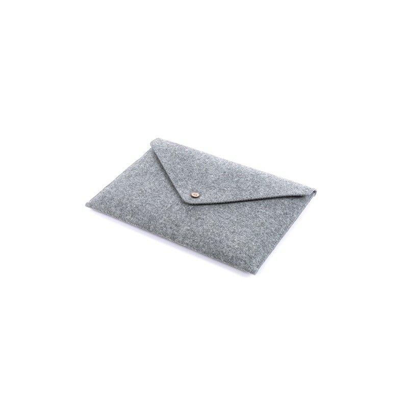 索然Macbook Pro16 15新款Air13 12吋羊毛氈電腦內膽包保護套信封