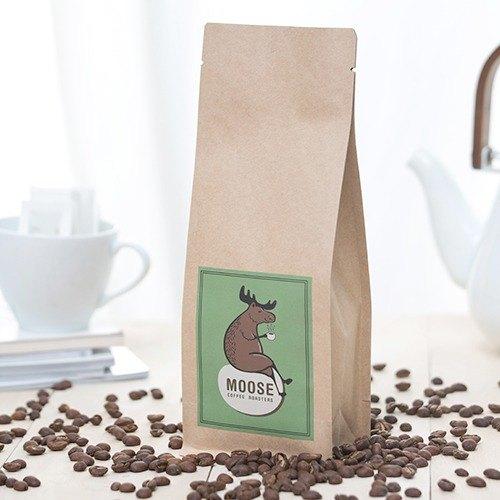 【MOOSE咖啡烘焙】(水洗)耶加雪菲,  咖啡豆 ,可磨粉,兩包免運