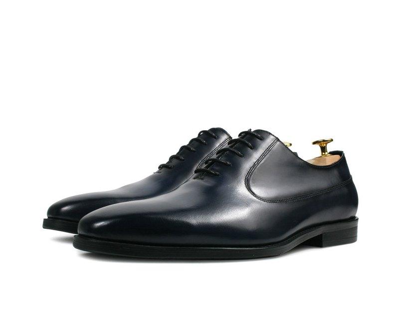 燻黑刷舊紳士皮鞋-HX286-500