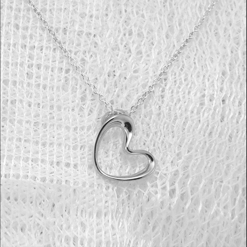 【安心出貨】關於愛 -悸動的心- 愛心項鍊 鎖骨鍊 手作飾品