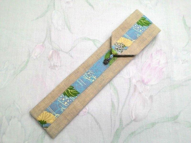 餐具組隨身收納袋 筷套F02-026~獨特設計手工縫製