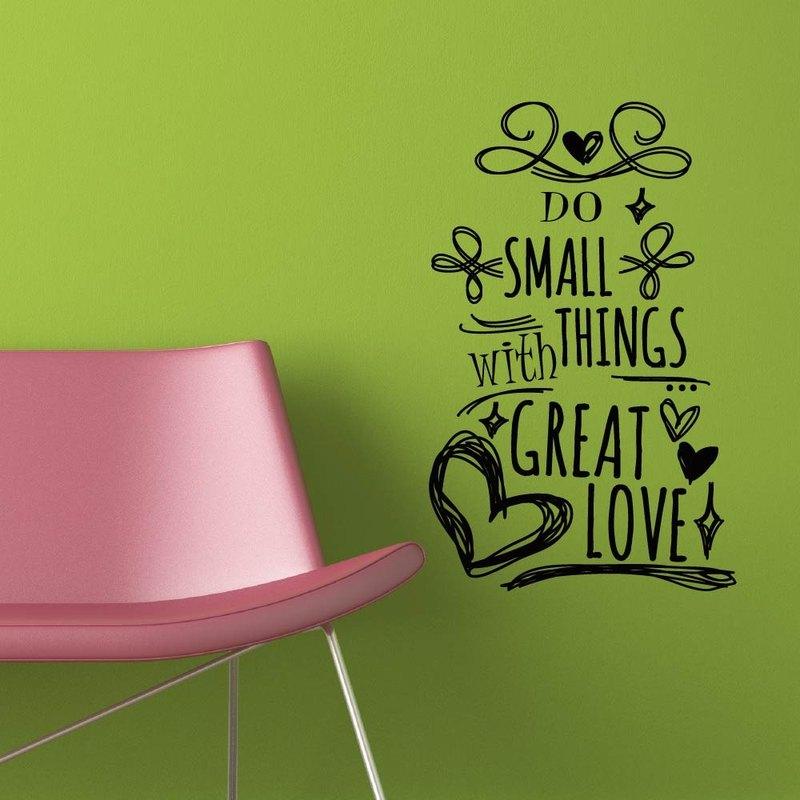 《Smart Design》創意無痕壁貼◆愛的標語 8色可選