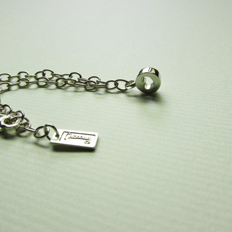 bb round heart bracelet_bb圓心手鍊 伴娘禮 謝禮 花童禮 彌月禮