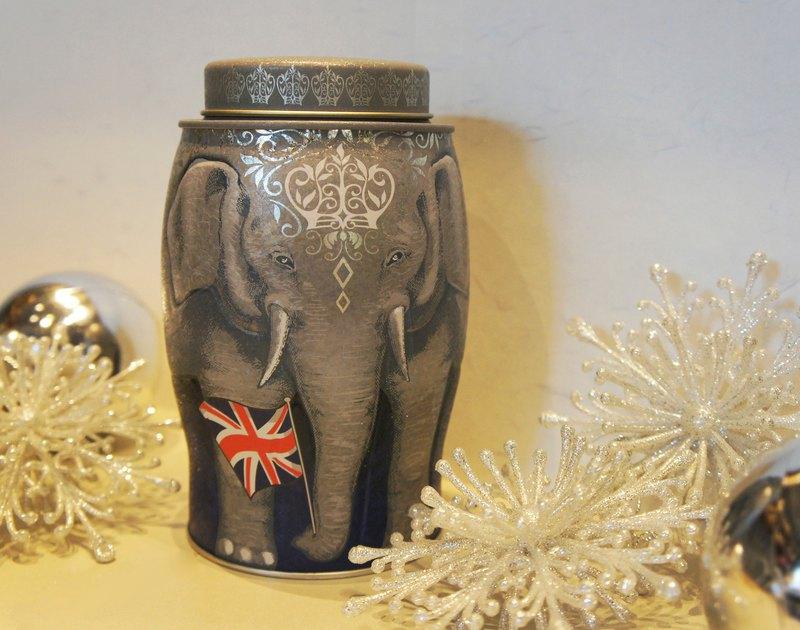 【畢業禮物 / 謝師禮物】皇室榮耀大象茶罐(內含英式早餐茶/40個)