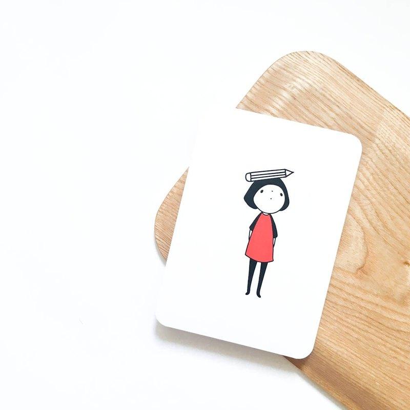 我想當 之 那桌子 上的 / 明信片