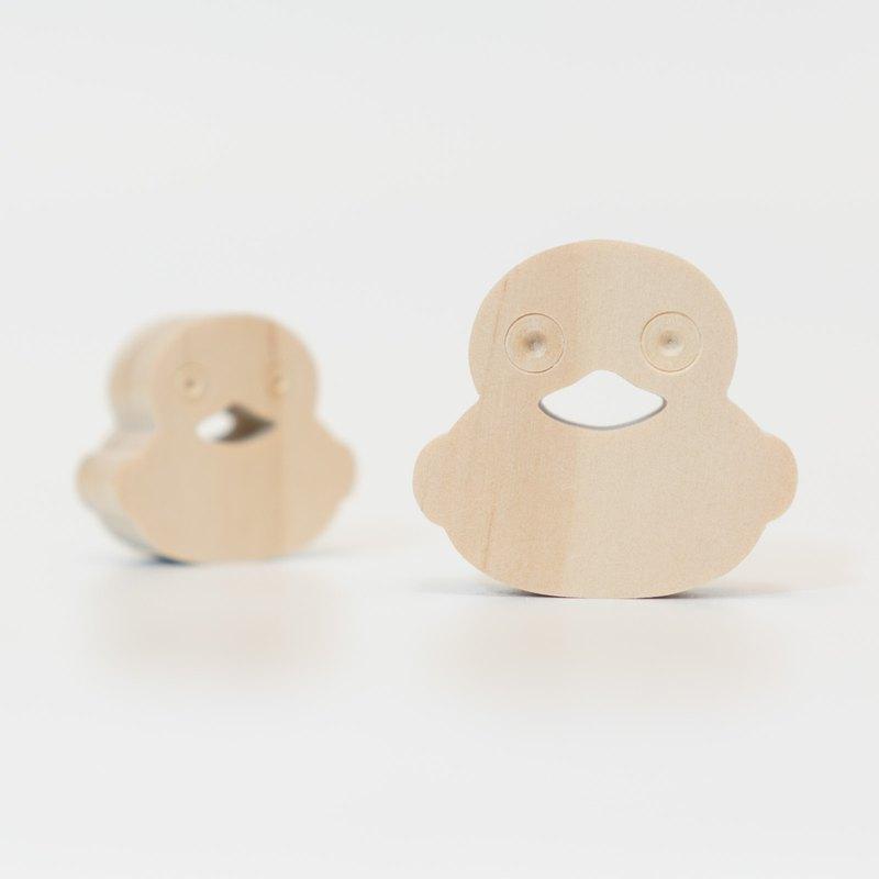 wagaZOO厚切造型積木 農場系列-大眼鴨