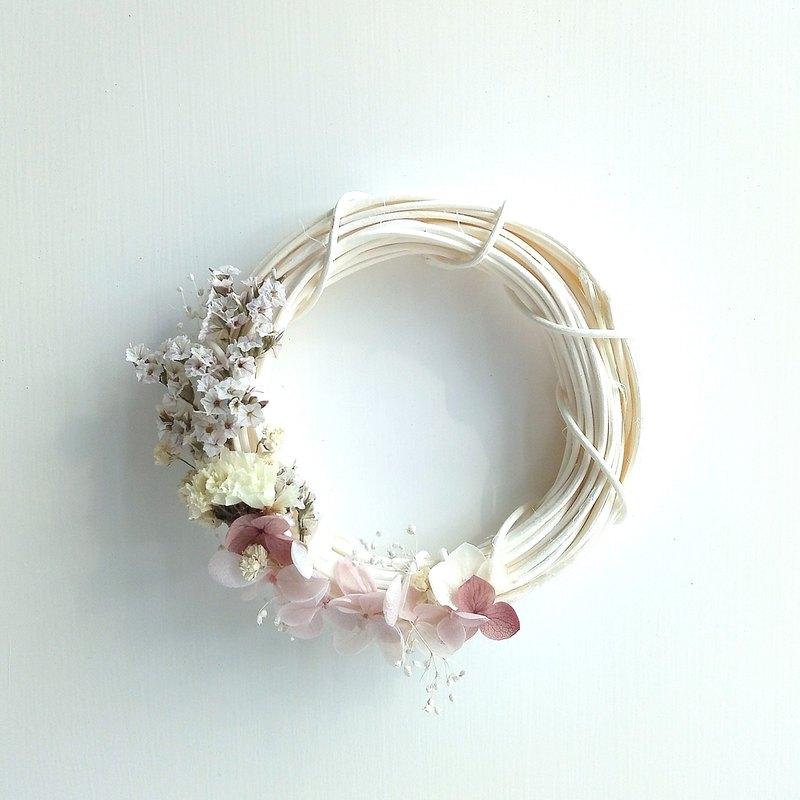 小花環 粉紅色系列 | 繡球花