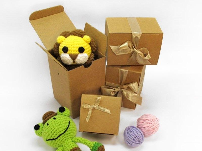 紙禮盒包裝(大)-適合手搖鈴、口金包、零錢包、寶寶類商品