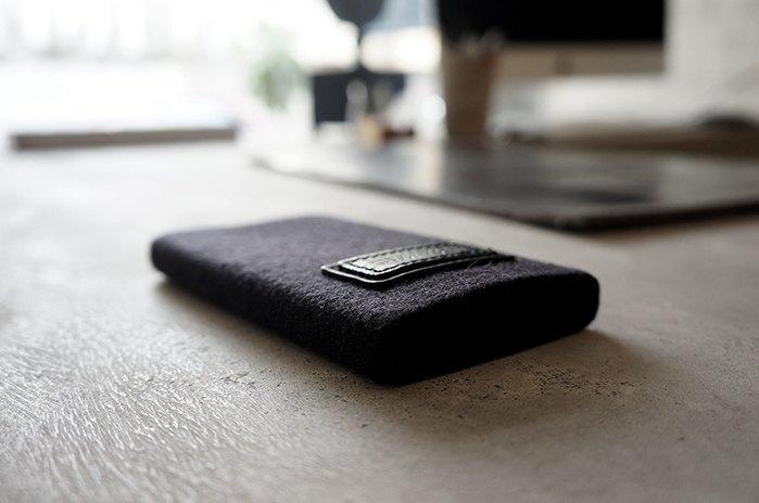 無接縫 雙方標 羊毛 手機包  適用4.7吋iphone12mini / 8 / 7/ SE