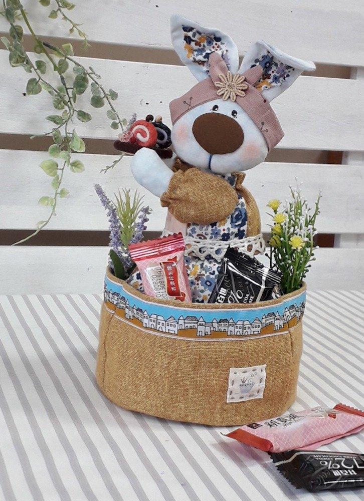 甜點兔桌上收納袋