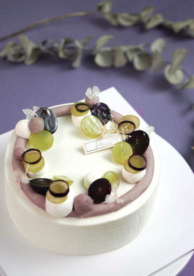 烘焙課程-輕甜芋香海綿蛋糕