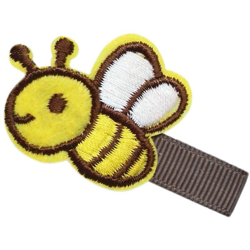Cutie Bella 小蜜蜂髮夾 全包布手工髮飾Honey Bee