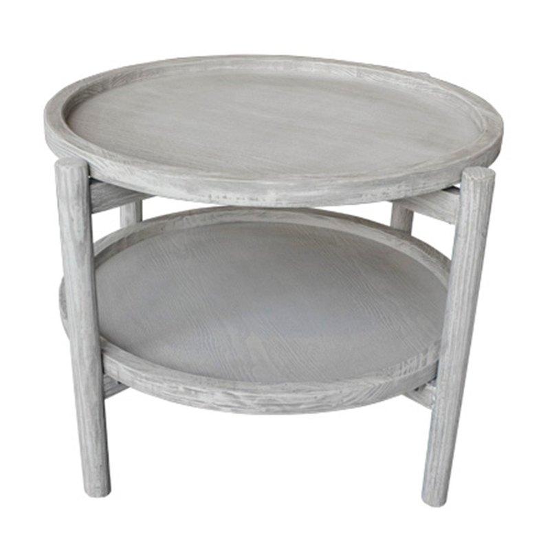 圓型雙層小茶几Round Double Side Table(big)