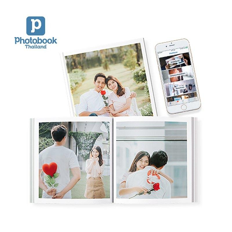 (eVoucher)Photobook:照片書輕鬆1張照片每1精裝,尺寸6 x 6英寸