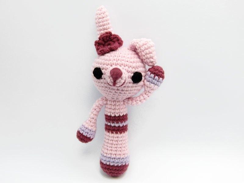優雅兔兔-嬰兒手搖鈴-寶寶手搖玩具